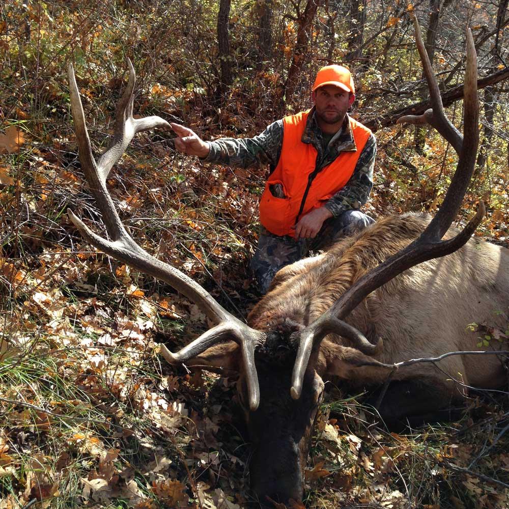 hunting for elk in colorado