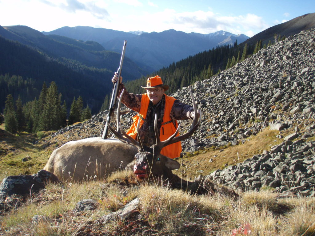 black powder elk hunting