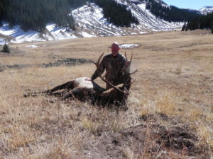 rifle hunting for elk in colorado