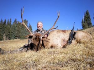 Colorado Wilderness Rifle Elk Hunting