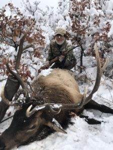 Private land elk hunting