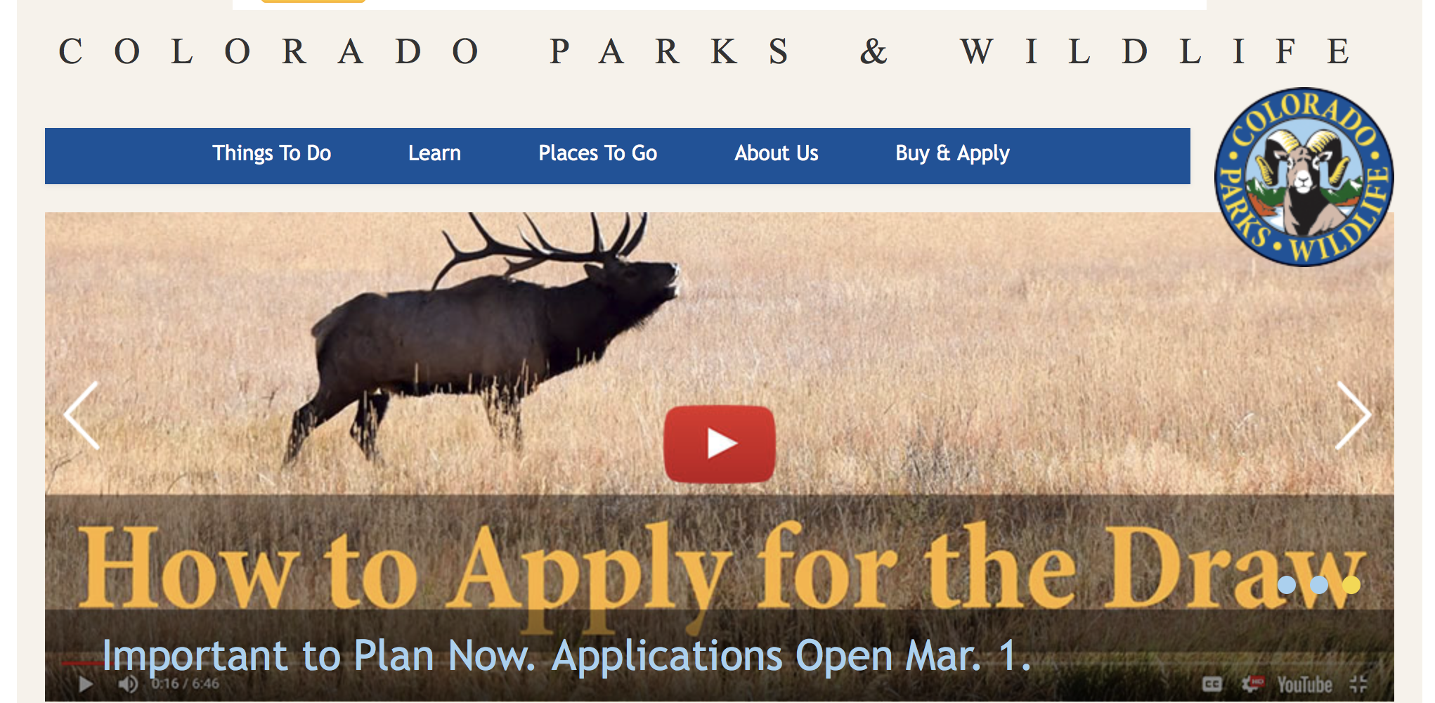 How to Apply for a  Colorado Big Game Hunting License