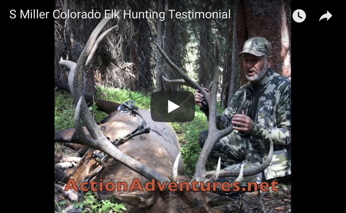 Successful Archery Elk Hunter